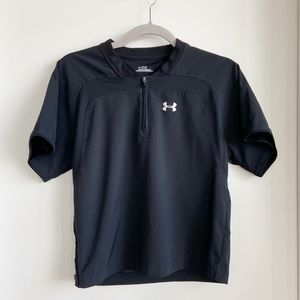 Under Armor Loose Zip Up Short Sleeve Kids YSM 7-8
